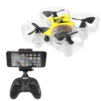 Eachine E012HW (Yellow) WiFi FPV RC Quadcopter Altitude Mode 2.4G RTF w/ 3xBattery [1169324-Y-3B]